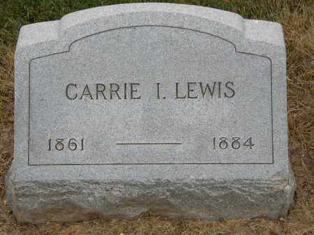 LEWIS, CARRIE I. - Marion County, Ohio | CARRIE I. LEWIS - Ohio Gravestone Photos