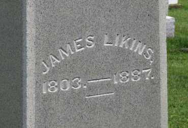 LIKINS, JAMES - Marion County, Ohio | JAMES LIKINS - Ohio Gravestone Photos