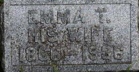 LONG, EMMA T. - Marion County, Ohio   EMMA T. LONG - Ohio Gravestone Photos