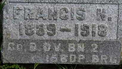 LONG, FRANCIS N. - Marion County, Ohio | FRANCIS N. LONG - Ohio Gravestone Photos