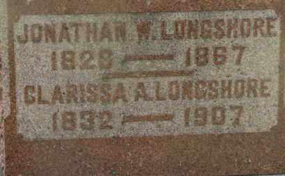 LONGSHORE, JONATHAN W. - Marion County, Ohio | JONATHAN W. LONGSHORE - Ohio Gravestone Photos