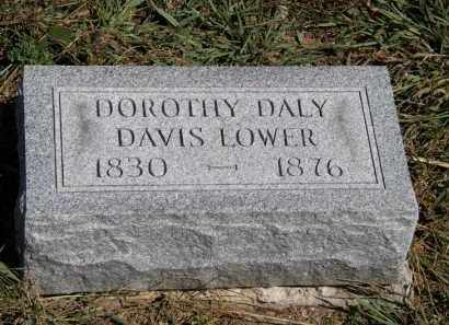 LOWER, DOROTHY DALY DAVIS - Marion County, Ohio | DOROTHY DALY DAVIS LOWER - Ohio Gravestone Photos