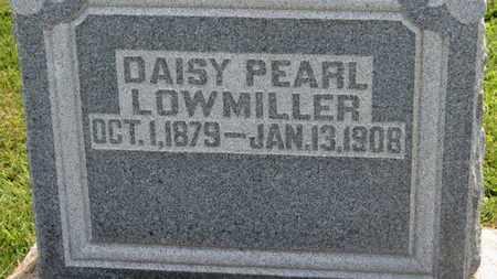 LOWMILLER, DAISY PEARL - Marion County, Ohio | DAISY PEARL LOWMILLER - Ohio Gravestone Photos