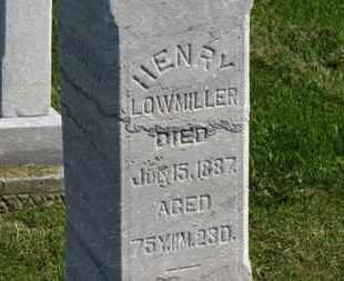 LOWMILLER, HENRY - Marion County, Ohio | HENRY LOWMILLER - Ohio Gravestone Photos