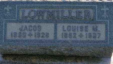LOWMILLER, LOUISE M. - Marion County, Ohio | LOUISE M. LOWMILLER - Ohio Gravestone Photos