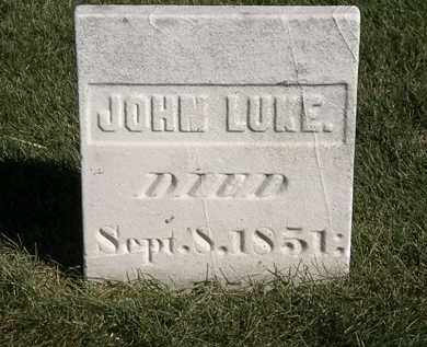 LUKE, JOHN - Marion County, Ohio | JOHN LUKE - Ohio Gravestone Photos