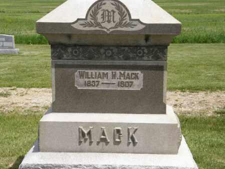 MACK, WILLIAM H. - Marion County, Ohio | WILLIAM H. MACK - Ohio Gravestone Photos