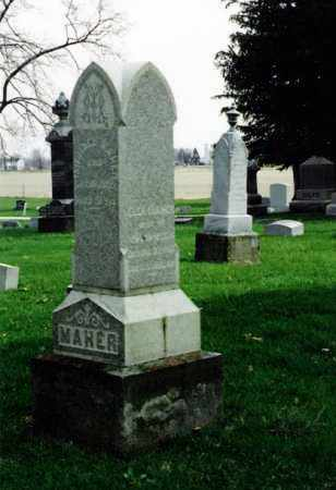 MAHER MYERS, ELLA - Marion County, Ohio | ELLA MAHER MYERS - Ohio Gravestone Photos