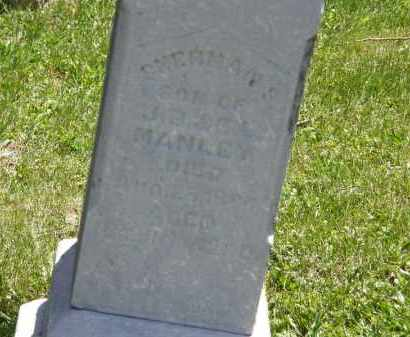 MANLEY, SHERMAN S. - Marion County, Ohio | SHERMAN S. MANLEY - Ohio Gravestone Photos
