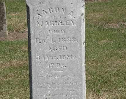 MARKLEY, AARON A. - Marion County, Ohio | AARON A. MARKLEY - Ohio Gravestone Photos