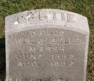MARSH, GERTIE - Marion County, Ohio | GERTIE MARSH - Ohio Gravestone Photos