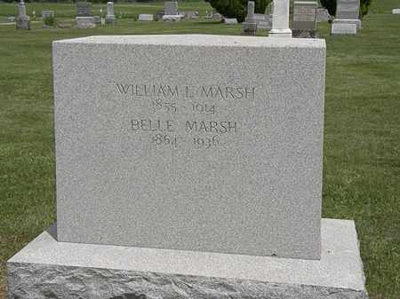 MARSH, BELLE - Marion County, Ohio | BELLE MARSH - Ohio Gravestone Photos