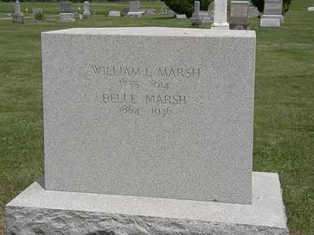 MARSH, WILLIAM L. - Marion County, Ohio | WILLIAM L. MARSH - Ohio Gravestone Photos