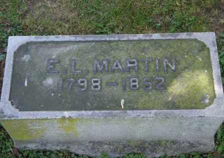 MARTIN, E. L. - Marion County, Ohio | E. L. MARTIN - Ohio Gravestone Photos