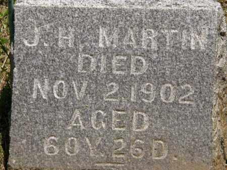 MARTIN, J.H. - Marion County, Ohio | J.H. MARTIN - Ohio Gravestone Photos