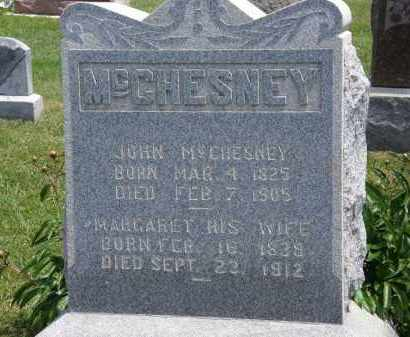 MCCHESNEY, MARGARET - Marion County, Ohio | MARGARET MCCHESNEY - Ohio Gravestone Photos