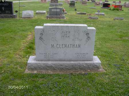 MCCLENATHAN, ALVA F. - Marion County, Ohio | ALVA F. MCCLENATHAN - Ohio Gravestone Photos