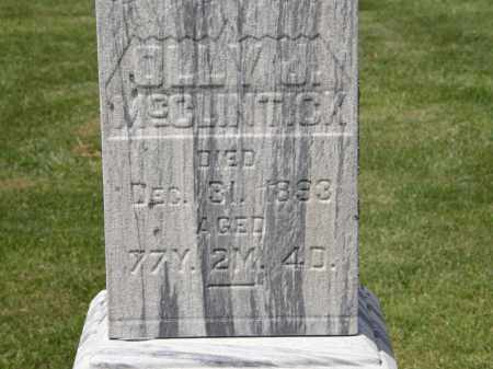 MCCLINTICK, OLLY J. - Marion County, Ohio | OLLY J. MCCLINTICK - Ohio Gravestone Photos