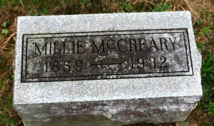 MCCREARY, MILLIE - Marion County, Ohio | MILLIE MCCREARY - Ohio Gravestone Photos