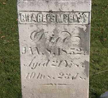MCELVY, CHARLES - Marion County, Ohio | CHARLES MCELVY - Ohio Gravestone Photos