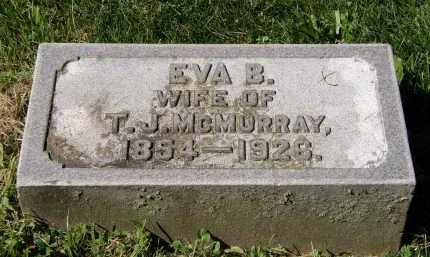 MCMURRAY, EVA B. - Marion County, Ohio | EVA B. MCMURRAY - Ohio Gravestone Photos