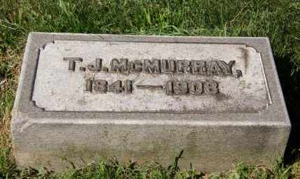 MCMURRAY, T. J. - Marion County, Ohio | T. J. MCMURRAY - Ohio Gravestone Photos