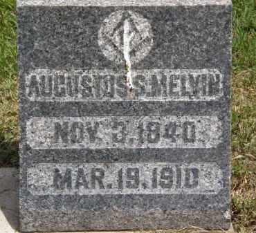 MELVIN, AUGUSTUS S. - Marion County, Ohio | AUGUSTUS S. MELVIN - Ohio Gravestone Photos