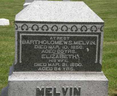 MELVIN, ELIZABETH - Marion County, Ohio | ELIZABETH MELVIN - Ohio Gravestone Photos