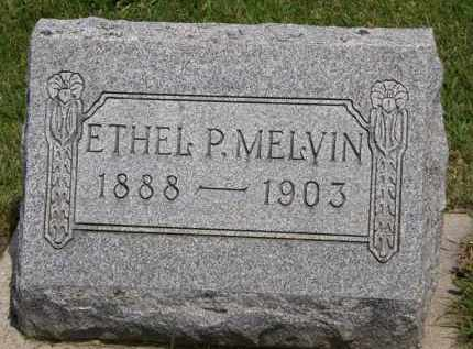 MELVIN, ETHEL P. - Marion County, Ohio | ETHEL P. MELVIN - Ohio Gravestone Photos