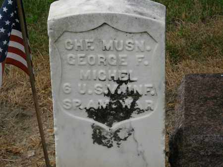 MICHEL, GEORGE F. - Marion County, Ohio | GEORGE F. MICHEL - Ohio Gravestone Photos