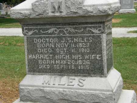 HIGH MILES, HARRIET - Marion County, Ohio | HARRIET HIGH MILES - Ohio Gravestone Photos