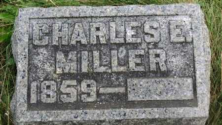 MILLER, CHARLES E. - Marion County, Ohio | CHARLES E. MILLER - Ohio Gravestone Photos