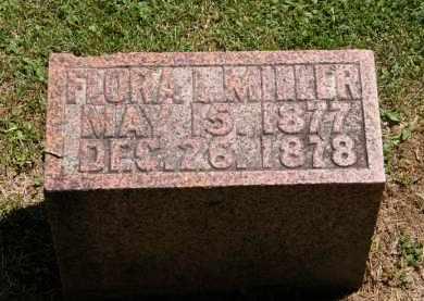 MILLER, FLORA I. - Marion County, Ohio | FLORA I. MILLER - Ohio Gravestone Photos