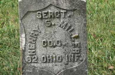 MILLER, HENRY S. - Marion County, Ohio | HENRY S. MILLER - Ohio Gravestone Photos