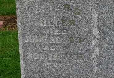 MILLER, LESTER D. - Marion County, Ohio | LESTER D. MILLER - Ohio Gravestone Photos