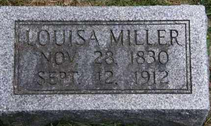 MILLER, LOUISA - Marion County, Ohio | LOUISA MILLER - Ohio Gravestone Photos