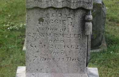 MILLER, MAGGIE J. - Marion County, Ohio | MAGGIE J. MILLER - Ohio Gravestone Photos