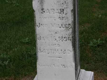 MILLER, SARAH - Marion County, Ohio | SARAH MILLER - Ohio Gravestone Photos