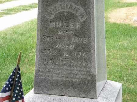 MILLER, WILLIAM H - Marion County, Ohio | WILLIAM H MILLER - Ohio Gravestone Photos