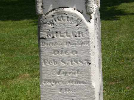 MILLER, WILLIAM - Marion County, Ohio | WILLIAM MILLER - Ohio Gravestone Photos