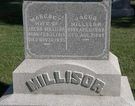 MILLISOR, JACOB - Marion County, Ohio | JACOB MILLISOR - Ohio Gravestone Photos