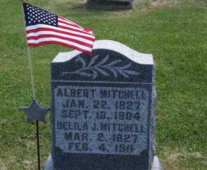 MITCHELL, DELILA J. - Marion County, Ohio | DELILA J. MITCHELL - Ohio Gravestone Photos