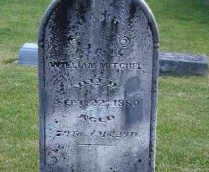 MITCHELL, WILLIAM - Marion County, Ohio   WILLIAM MITCHELL - Ohio Gravestone Photos