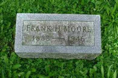 MOORE, FRANK HOMER - Marion County, Ohio | FRANK HOMER MOORE - Ohio Gravestone Photos