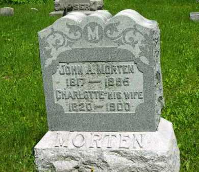 MORTEN, JOHN A. - Marion County, Ohio | JOHN A. MORTEN - Ohio Gravestone Photos