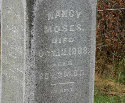 MOSES, NANCY - Marion County, Ohio | NANCY MOSES - Ohio Gravestone Photos