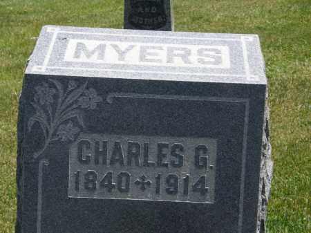 MYERS, CHARLES G. - Marion County, Ohio | CHARLES G. MYERS - Ohio Gravestone Photos