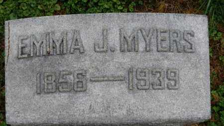 MYERS, EMMA J. - Marion County, Ohio | EMMA J. MYERS - Ohio Gravestone Photos
