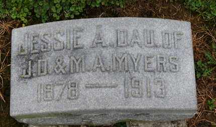 MYERS, JESSIE A. - Marion County, Ohio | JESSIE A. MYERS - Ohio Gravestone Photos