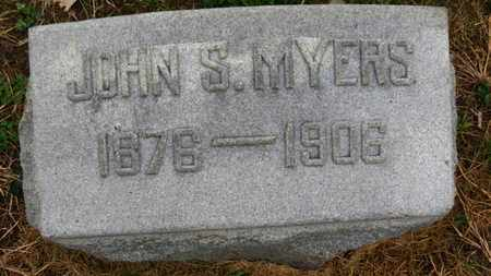 MYERS, JOHN S. - Marion County, Ohio | JOHN S. MYERS - Ohio Gravestone Photos